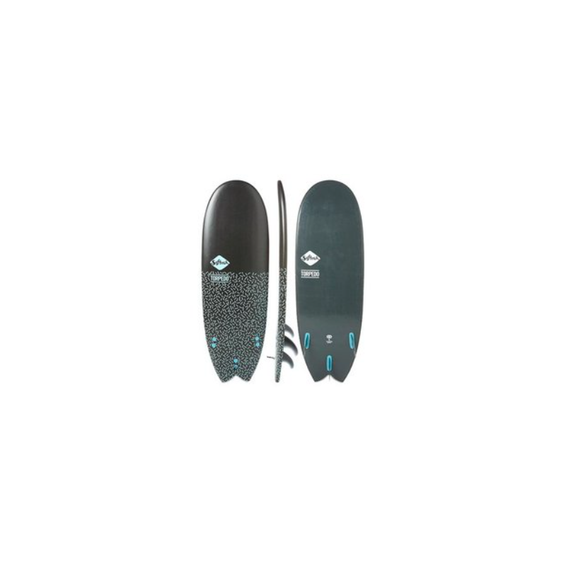 "SOFTECH 5'4"" TORPEDO SOFTBOARD"